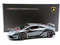 AUTOart 1:18 Lamborghini Sesto Element Carbon Gray from japan