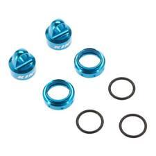 Axial Racing AX31430 King Shocks Aluminum Caps/Collar Set 12mm Blue