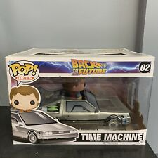 Delorean (Time Machine) Funko Pop - Back To The Future Vaulted New Never Opened