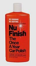 Nu Finish Car Polish Contains Wax Gloss Cleaning Best Value
