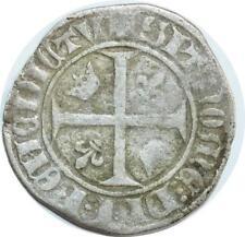 O6181 Charles VI 1380-1422 Blanc guénar Argent ->F offre