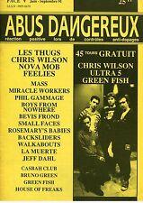 Abus Dangeureux #Face V Les Thugs, Chris Wilson, Nova Mob, Feelies, Boys From...