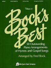 Bock's Best Volume 5 Sheet Music NEW 008738374