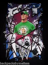 WWE John CENA Black Shirt Boy's 10/12 NeW Wrestling Rey Mysterio Orton Sheamus