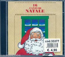 16 Canti di Natale (1992) CD NUOVO Tu scendi dalle stelle Caro Gesù Bambino Piva