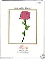 BossKut 'Rose die by Lisa Schmidt' use in all die cutting machines