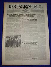 DER TAGESSPIEGEL 23.10.1973: Feuereinstellung in Nahost / Nixons Watergate-Vorg.