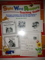 Sight Word Teaching Guide Mini Books Handwriting Practice Kindergarten Grade 1