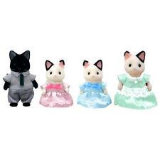 SYLVANIAN FAMILIES JP FS-05 CHARCOAL CAT FAMILY SET EP14270