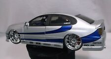 Jada Toys Import Racer 1:24 Scale Lexus GS-430 Silver with the Chrome Rims
