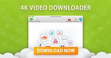4K Video Downloader Software 2018 for Windows – Fast Delivery - Download Link