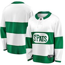 Men's Toronto St. Pats Fanatics Branded White Green Premier Breakaway - Jersey