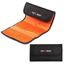 K&F Concept 6-Pocket Lens Filter Pouch Case Carry Bag Wallet Cover Holder 49-77m