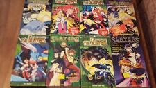 Lot of 8 The Slayers VHS Cassette Tapes Japanese Anime Rare
