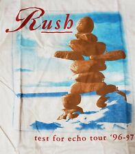 Vintage 1996-97 Rush Test For Echo Concert T-shirt
