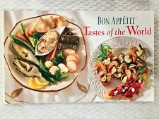 BON APPETIT -Tastes of the World - 1996 Softcover Recipe Book