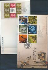 XC13497 Great Britain 2009 Elizabeth II mythical creatures FDC's used