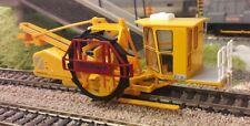 Stobart Ballast Undercutter Track Rail Repair Excavator Machine 1:76 OO/00 Model
