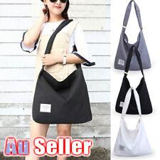 Womens Hobo Ladies Tote Large Canvas Handbag Purse Shoulder Bag Travel Messenger