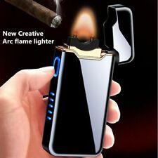 Arc Flame Lighter Usb Charging Plasma Cigarette Windproof Flameless Electronic