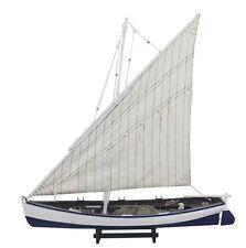 g4151: grande Barco de pesca con lateinersegel, lateiner barco, schratsegler