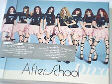 K-POP Girl BAND After School DIVA Limited Edition CARD LIVE DVD NEW Sealed #993