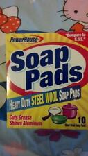 Personal Care Products Heavy Duty Steel Wool Soap Pads - 10-Count