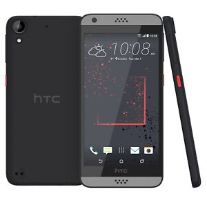 HTC Desire 530 16GB Graphite Grey Sim Free Smart Phone Android Touch Screen Slim
