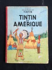 Tintin En Amérique B30 1961 En Bon État (ref36)