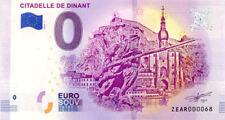 BELGIQUE Dinant, Citadelle, N° de la 1ère liasse, 2018, Billet 0 € Souvenir