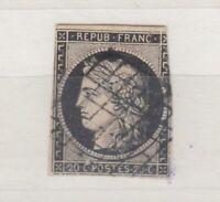 France 1849 Ceres 20c VFU J5218