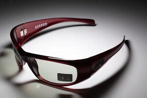 Kaenon Rhino TR90 Ruby Frames SR91 Grey 40% Polarized Lenses Sunglasses