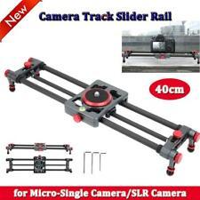 40cm SLR Camera Slider Motorized Track Dolly Slider Video Rail Camera Shooting