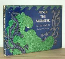 Ted Hughes - Nessie the Monster - 1st 1st HCDJ - English Poet Laureate - NR
