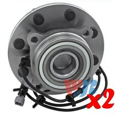 Pack of 2 Front Wheel Hub Bearing Assembly replace 515063 HA590203 BR930203