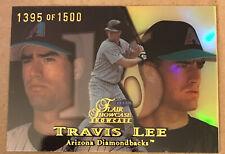 New listing 1999 Flair Showcase  #11 Travis Lee /1500