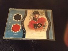 2011-12 UD Artifacts Claude Giroux Treasured Swatches Jersey-Flyers #43/135