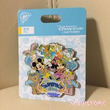 Disney Pin 2018 Duffy shelliemay stella lou gelatoni shanghai disneyland Park
