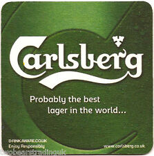 Beer Mat: Carlsberg Lager - Probably The Best Lager In The World