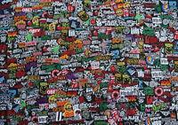 40 RANDOM Band Music Rock Metal Pop Punk Iron On Embroidered