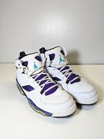 Nike Air Jordan 5 V Retro White Grape 136027-108 Size 10.5  Emerald-Grape