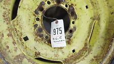 JD 6 Lug Tractor Rim 9.5x15 Co-op Tri Rib Tractor Tire ITEM# 0975