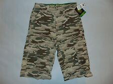 John Deere Camo Shorts Brown Green Boys Kids Sz 12 14 16 New With Tags $34 Nwt