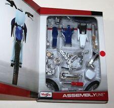 Yamaha YZF450 Escala Modelo 1:12 Maisto Juguete Kit de montaje de la bici Die Cast Motocross