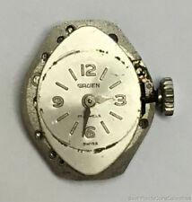 Gruen Ladies Watch Movement 17 Jewels N225R Handwinding Parts or Repair