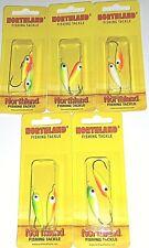 Northland Tackle 1/0 Gum Drop Floating Jigs (GDB-3-Lot of 5 pks)