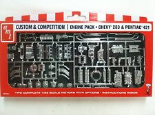 AMT Custom & Competition Engine Pack - Chevy 283 & Pontiac 421 -  AMTPP011