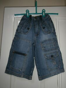 Adams Cropped Cargo 'Surfer' Jeans Age 5 years