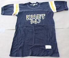 Rare Vintage 1980 Bruce Springsteen & E-Street Band KMET 94.7 Baseball T-Shirt