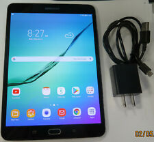 Samsung Galaxy Tab S2 SM-T713 8'' Tablet 32GB ,Black, 2048x1536 100% screen A23